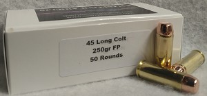 Sperry Ballistics 45 Colt 250gr Flat Point (50 qty)