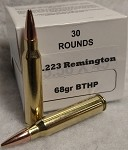 Sperry Ballistics 223 Remington 68gr Boat Tail Hollow Point (30 rounds)